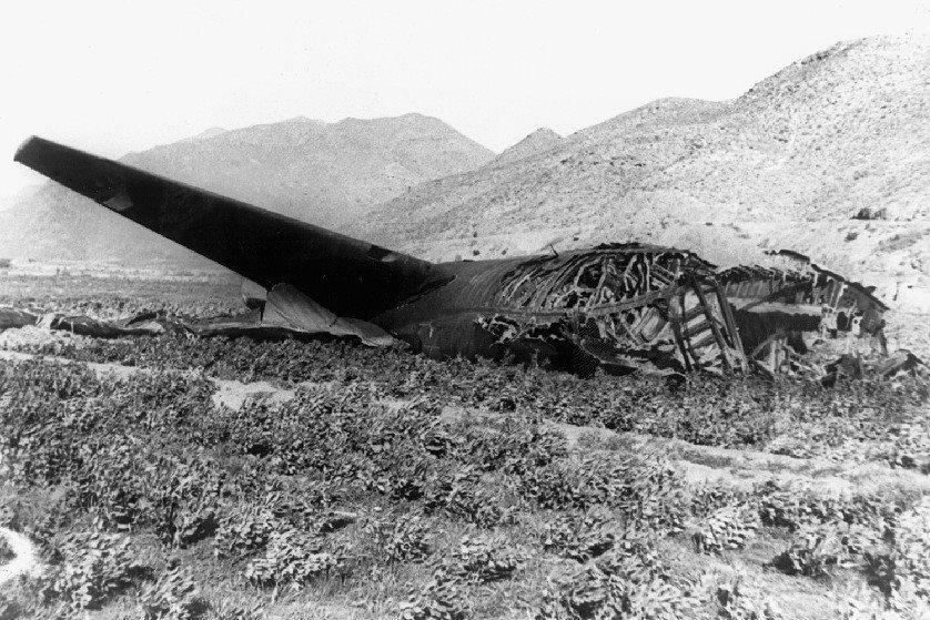 B52 crashed 1966/01/17